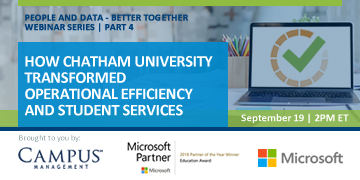 Chatham University transforms operational efficiency